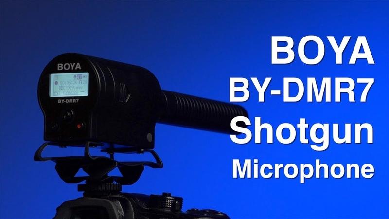 BOYA BY-DMR7 Shotgun Condenser Microphone Review