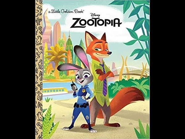 Disney's Zootopia I Little Ones Story Time Video Library Read-Aloud Children's Storybook
