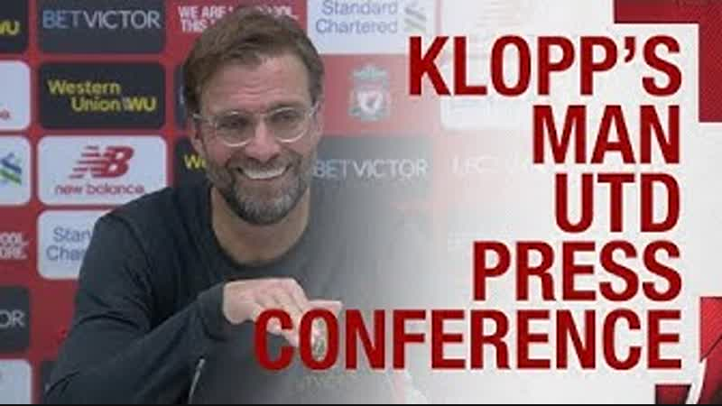 Jürgen Klopp's pre match press conference Defensive injuries Man Utd and more