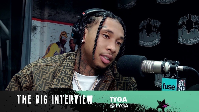 Tyga Talks Lil Wayne and Legendary | Fuse X Big Boy