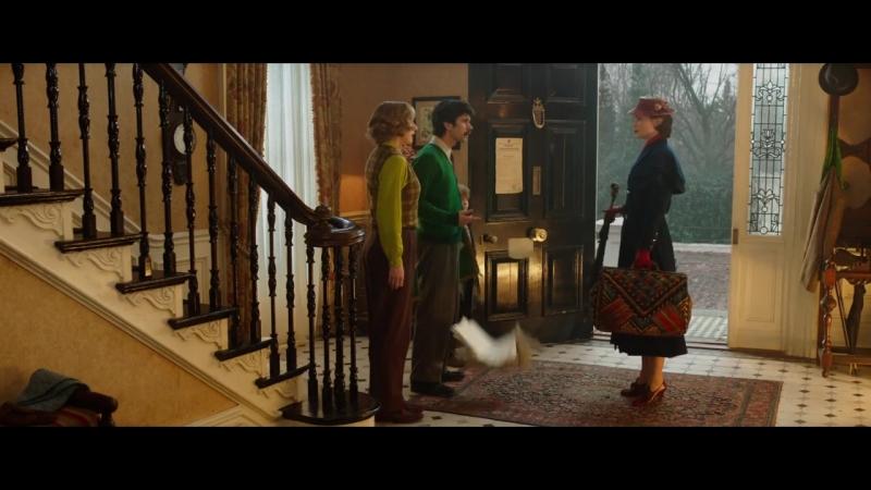 Трейлер фильма «Мэри Поппинс возвращается»
