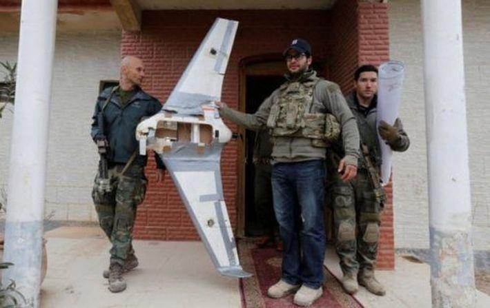 Боевые дроны игил (запрещена в РФ)