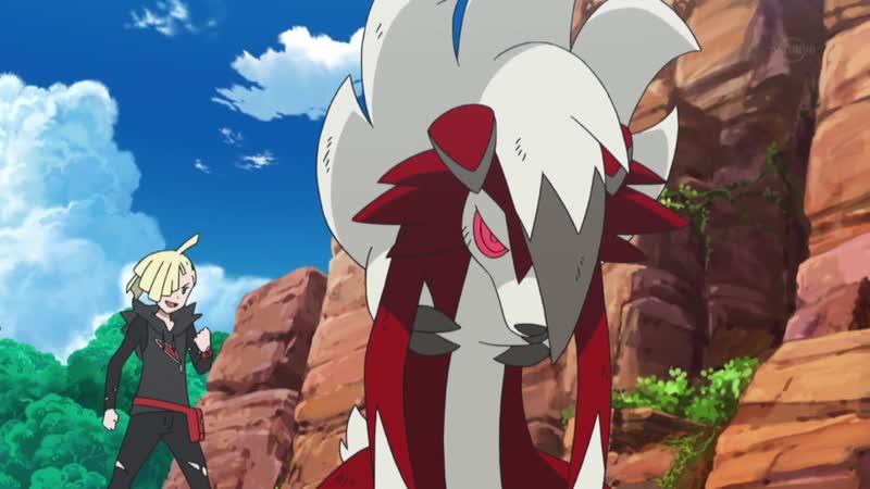 Pocket Monsters Sun Moon - 105 Lugarugan kessen! Satoshi VS Gladio [RAW]