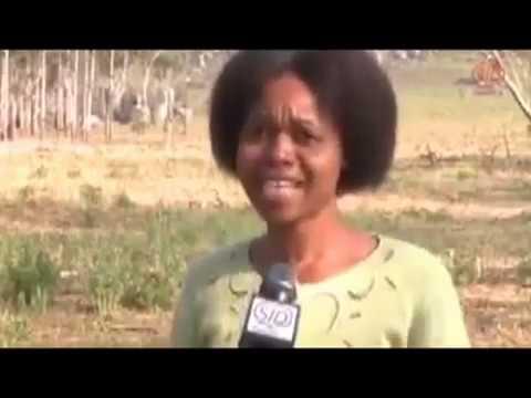 Манна в Анголе