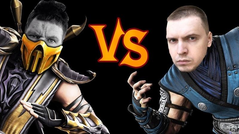Mortal Kombat 11 Глад Валакас трейлер (feat. Папич)