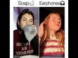 Viral soap earphone