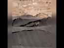 ОМАН Геологические разломы разрушают дорогу в Хасике Шаймия 16 10