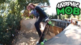 Chris Gregson Graphic MOB x Independent Backyard Ramp Hell Hounds
