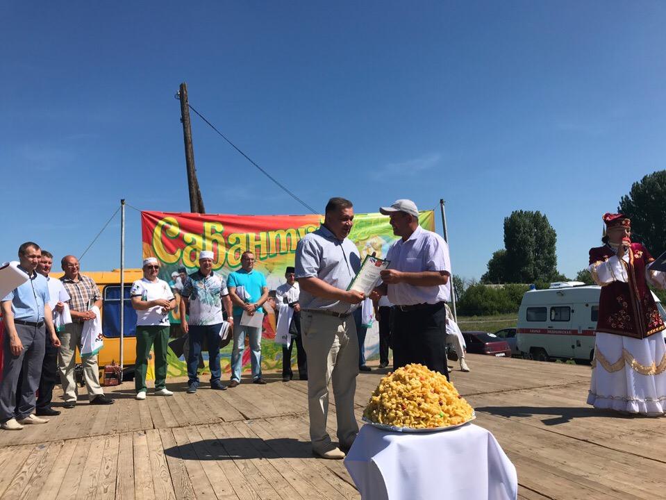 Сабантуй в селе Филлиповка