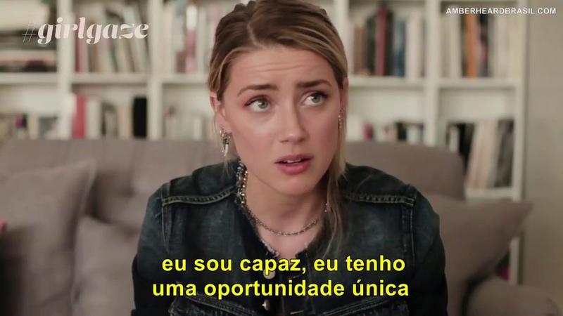 Amber Heard fala sobre violência domestica (LEGENDADO PT/BR)