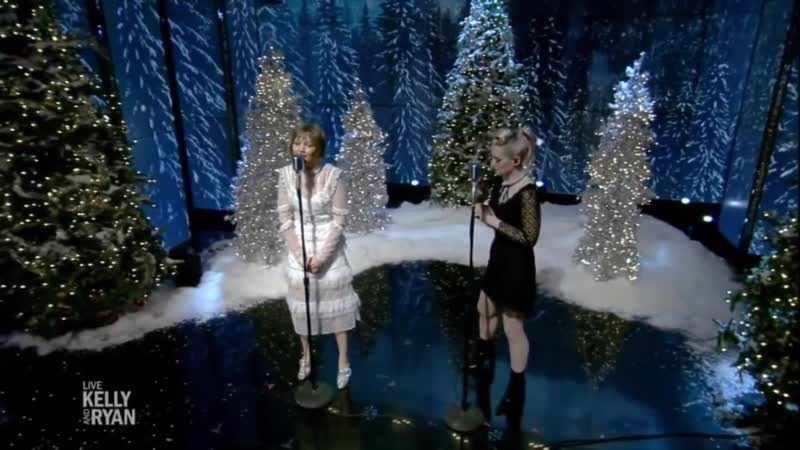 Ingrid Michaelson and Grace VanderWaal - Rockin Around the Christmas Tree (Live with Kelly and Ryan - dec.13.2018)