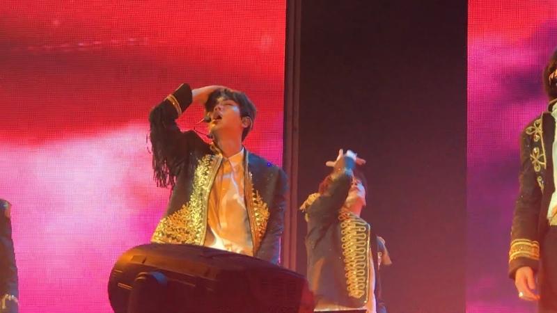 [HD] 180909 Fancam - I'm Fine (BTS Jin Focus) : Love Yourself Tour in LA