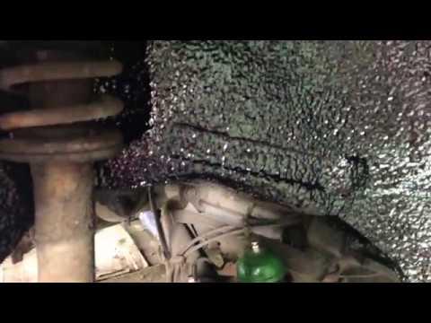 BMW жидкие подкрылки. Оптимальный вариант как для шумоизоляции, так и для защиты от ржавчины