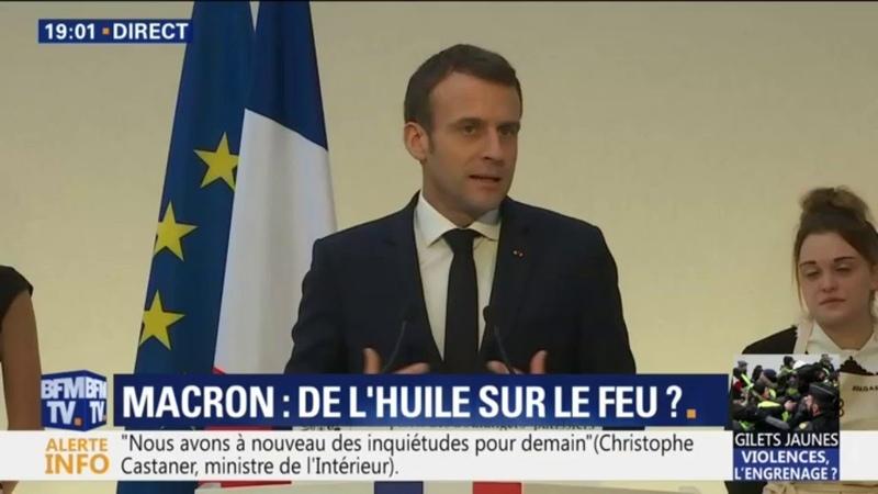 Emmanuel Macron Trop de nos concitoyens pensent quon peut obtenir sans quun effort soit apporté