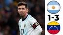 Argentina vs Venezuela 1-3 All Goals & Highlights (22/03/2019) HD