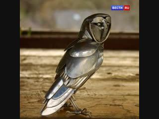Художник превращает металлолом в статуи животных. А какое у вас увлечение?