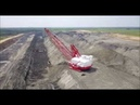 Dragline Working at Luminant Lignite Mine Kosse Texas