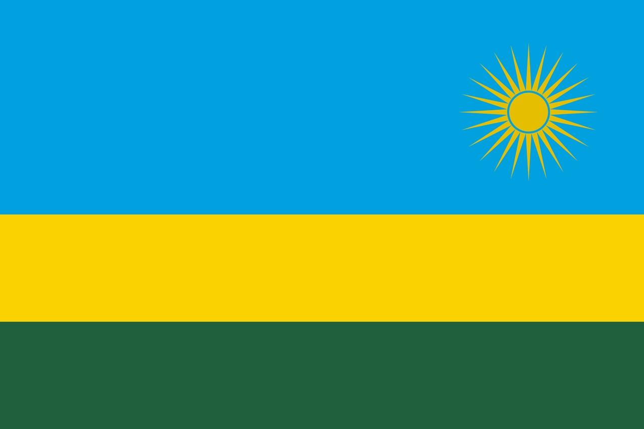Флаг Руанда