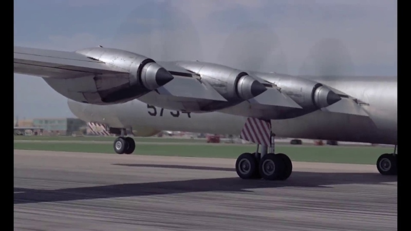 Six Turning Four Burning - Convair B-36 Peacemaker (HD)