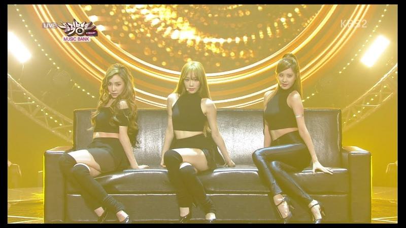 Girls' Generation-TTS 소녀시대-태티서 Comeback Stage 'Adrenaline' KBS MUSIC BANK 2014.09.26