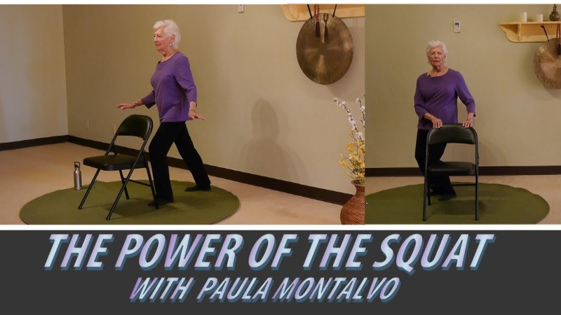 Balance Practice for Seniors with Paula Montalvo Happy 86th Paula