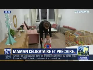 Plus de 2 millions de femmes en France sont mères célibataires, une sur trois vit sous le seuil de pauvreté