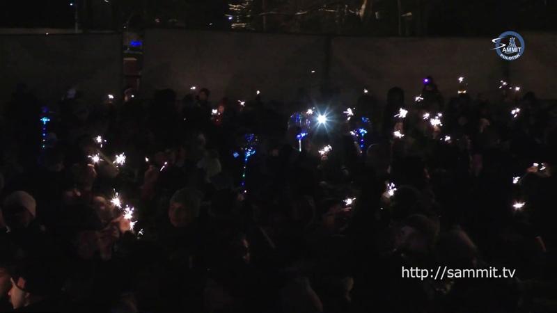 «СаммитТВ» В Полоцке прошёл фестиваль огня и света «Вместе Зажигаем»