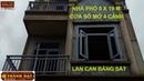 Thiết kế Cửa Ba Lô 4 Cánh, Cửa Sổ Mở 4 Cánh, Lan Can Sắt Cho Nhà Phố Đơn Giản Mà Đẹp