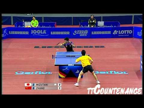 World Cup: Zhang Jike-Jun Mizutani
