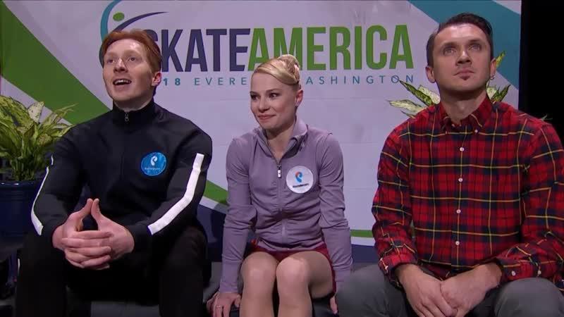 2018_Skate America - Короткая программа