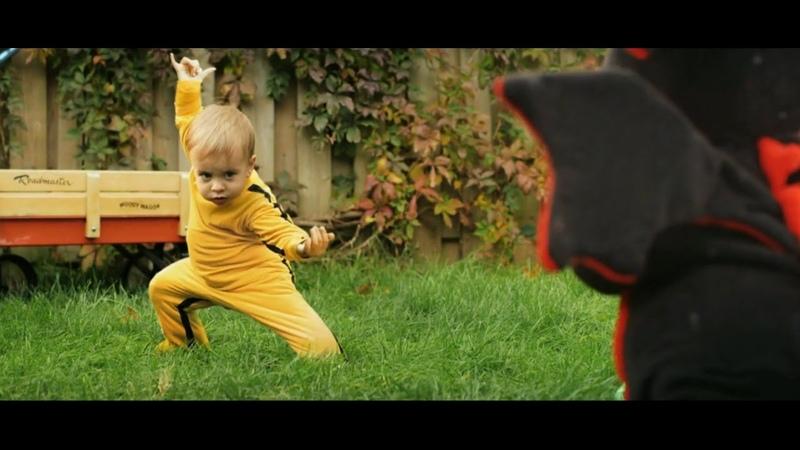 BABY VS DRAGON! EPIC FIGHT! BRUCE LEE ALIKE!