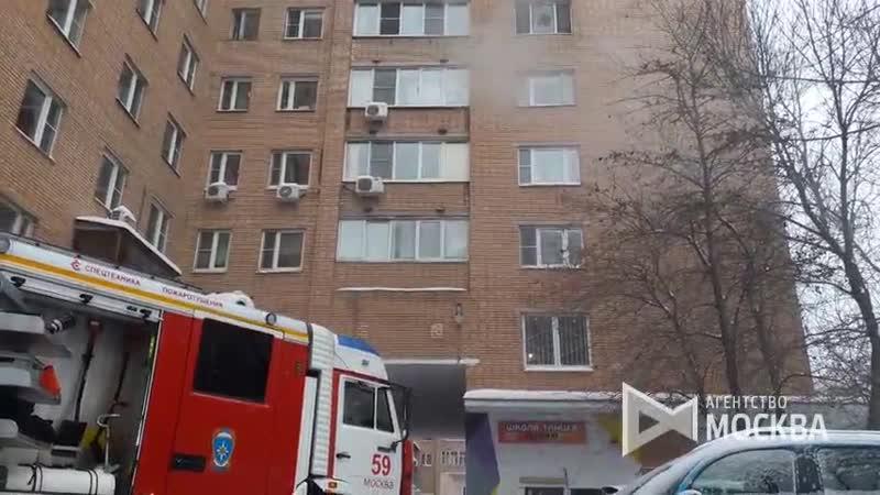 пожар ул. Римского-Корсакова, д.6