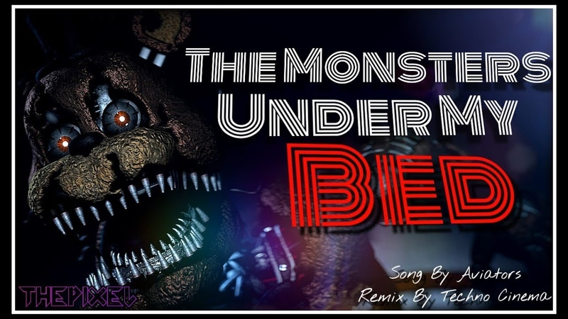 [SFM] The Monsters Under My Bed REMIX | *EPILEPSY WARNING* | Animated Song