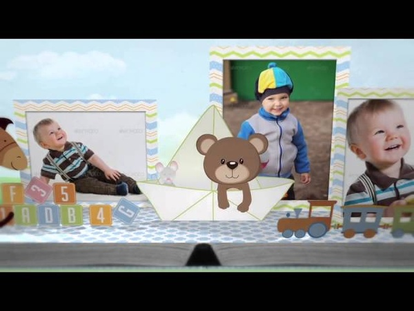 After Effects Project Files - Hey, Im Turning One! - Baby Birthday Album - VideoHive 9118154 52 100