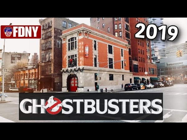 Ghostbusters Firehouse Newly Restored 2019! FDNY Ladder 8 My Emotional Visit To The 911 Memorial