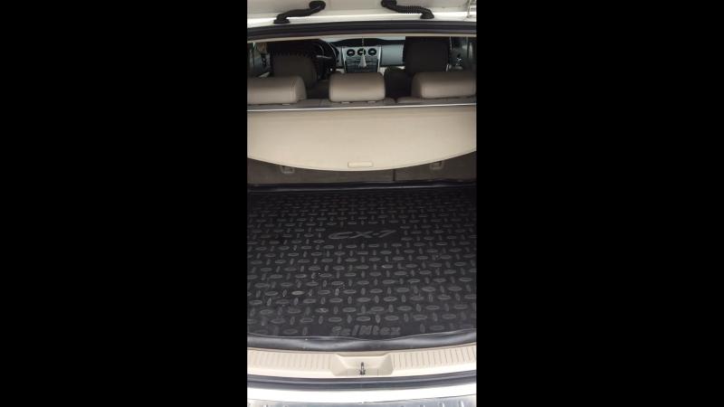Разбор и виброизоляция ниши багажника Mazda cx7