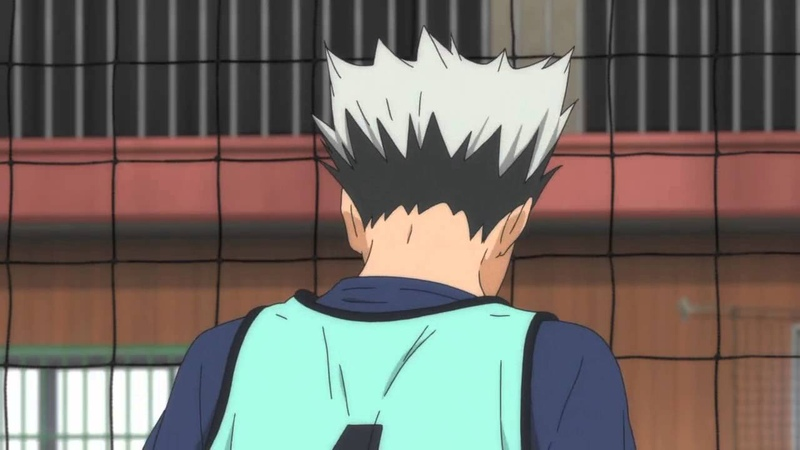 Bokuto recovers from Emo mode (hey hey hey!)