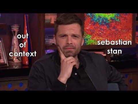 Out of context: sebastian stan