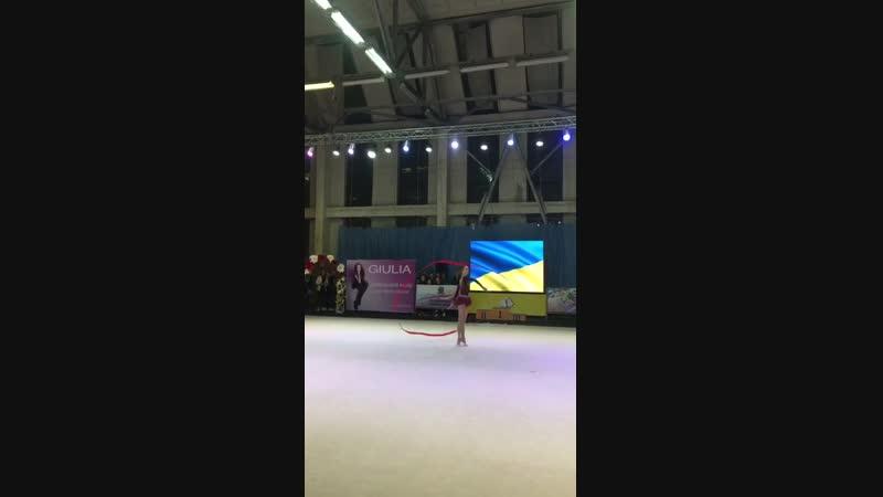 Екатерина Луценко Лента - Чемпионат Украины Днепр 2018