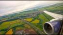 British Airways Boeing 767-300ER takeoff from Edinburgh! Roaring Rolls Royce RB211s!