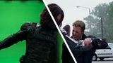 Amazing Before &amp After Hollywood VFX Captain America - The Winter Soldier