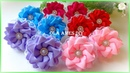 Канзаши/Цветы из репсовых лент/Kanzashi Flower/DIY Grosgrain Ribbon Flower/Flor de Fita/Ola ameS DIY