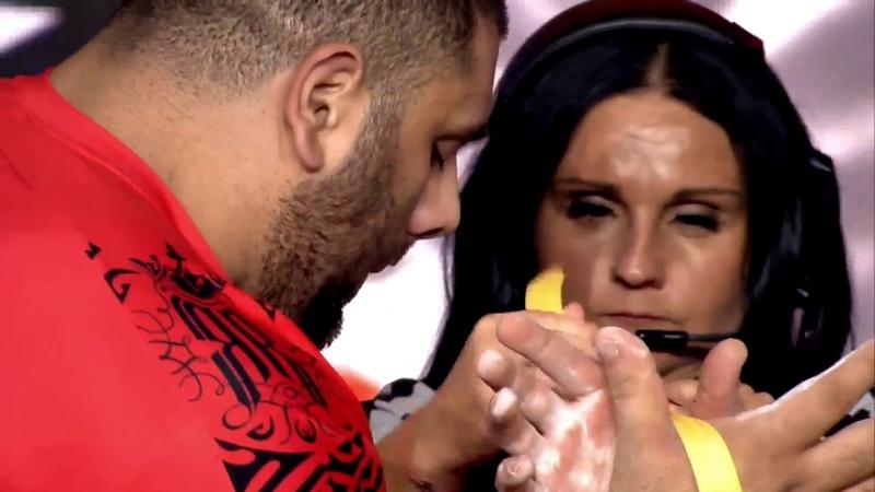 Levan Saginashvili vs Dmitry Trubin, Vendetta 50, arm fight right hand 17.11.2018