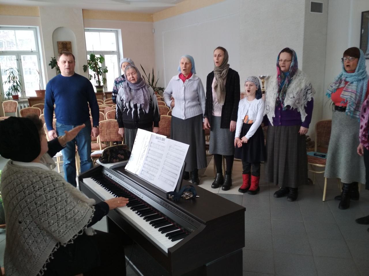 Церковный хор прихожан