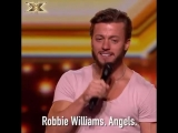 That probably wasnt the answer @robbiewilliams was hoping for... XFactor sass