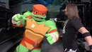 AJ Styles teaches Raphael from Rise of the Teenage Mutant Ninja Turtles some Phenomenal moves