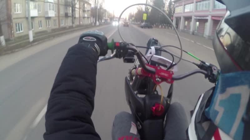 /Ride On Ice/Whellies Or City/ JMC 140 Motard