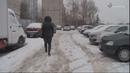 В Серпухове прошел рейд по очистке междворовых проездов и тротуаровот снега