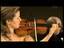 Mozart Violinsonate B Dur KV 378 Anne Sophie Mutter Violine Lambert Orkis Klavier