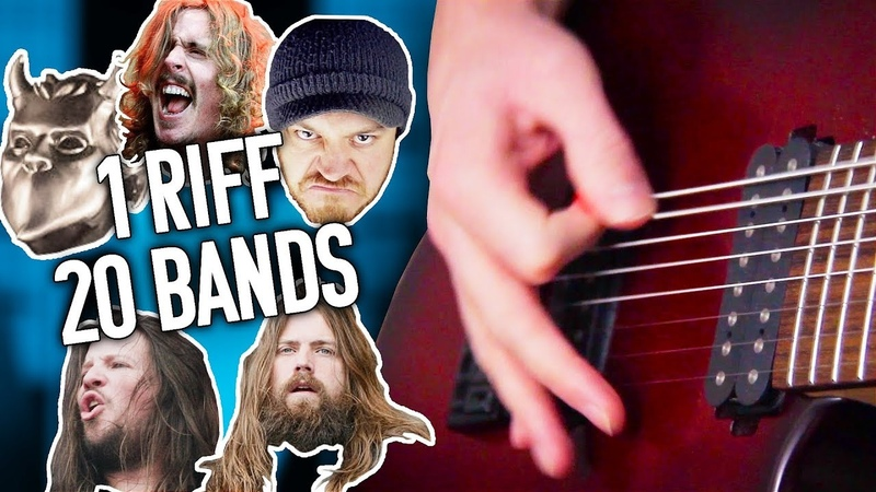 1 Riff 20 Bands 5 - Smoke On The Water! | Pete Cottrell